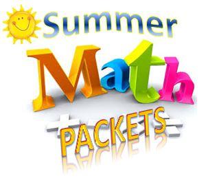 Math Summer Packets - Ansonia Public Schools